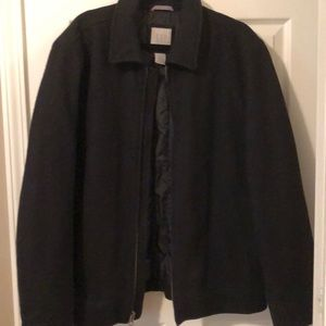 Men's GAP Zip Up Peacoat